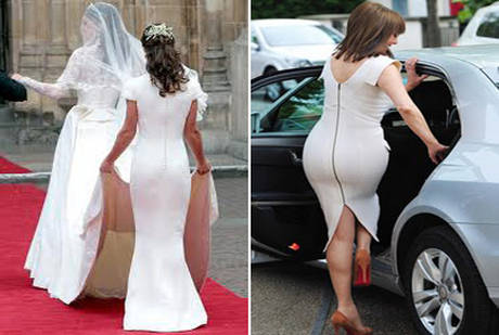 Pippa Middleton e Carol Vorderman. Cinquantenne supera Pippa in 'lato b' dell'anno -