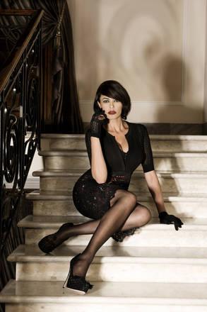 Maria Grazia Cucinotta testimonial per Mariella Burani  -