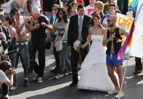 L'orgoglio gay a Roma, giugno 2011 -