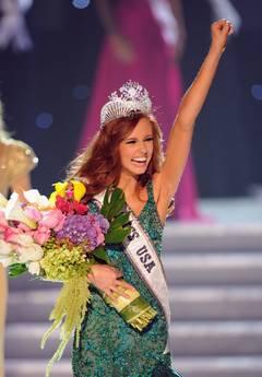 Italoamericana della California eletta Miss Usa Alyssa Campanella -