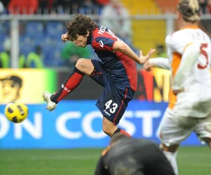 Alberto Paloschi e' passato dal Genoa al Milan -