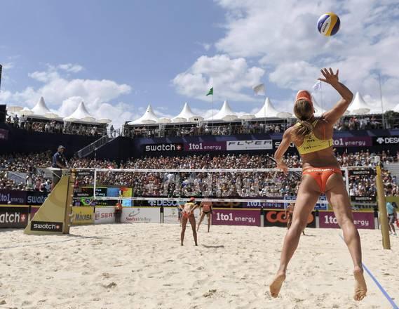Beach Volley Worldtour vincono brasiliane niente da fare per azzurre solo seconde a Gstaad, Svizzera