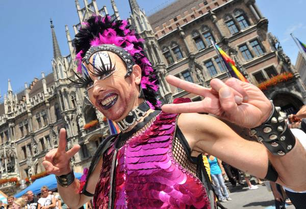 Monaco di Baviera, parata gay al 'Christopher Street Day' -