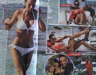 Nicole Minetti in ferie -