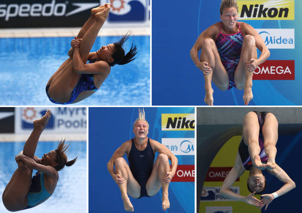 Ai Mondiali di nuoto di Shanghai, lo spettacolo dei tuffi -