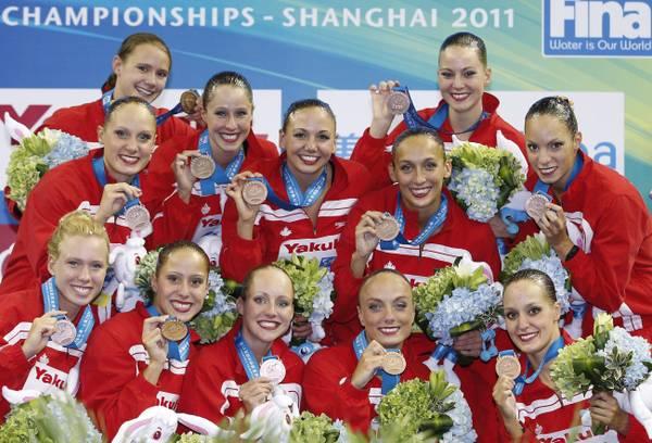 Mondiali nuoto sincronizzato, medaglia bronzo per il Canada -