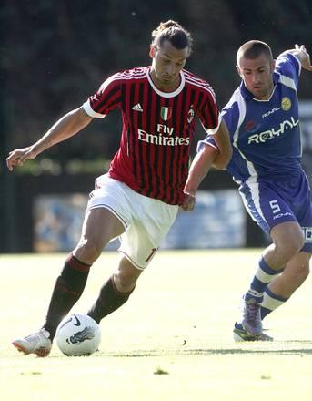 Amichevole, Solbiatese-Milan: new look per Ibrahimovic -