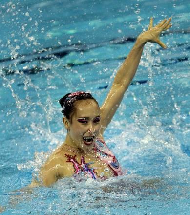 Shanghai, Mondiali nuoto: il sincronizzato della Gyong Wang -