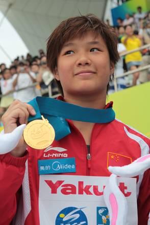 Tuffi: mondiali Shangai, oro per la cinese Shi Tingmao -