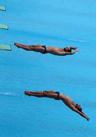 Mondiali Shangai, i greci Manos e Paparounas dal trampolino -