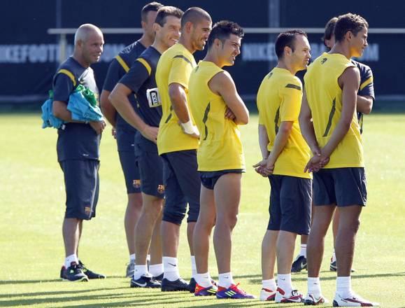 Al via gli allenamenti per il Barcellona -