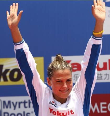 Mondiali nuoto, Martina Grimaldi argento nei 10 chilometri -