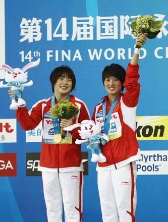 Mondiali Shangai: tuffi, oro per le cinesi Wang e Chen -