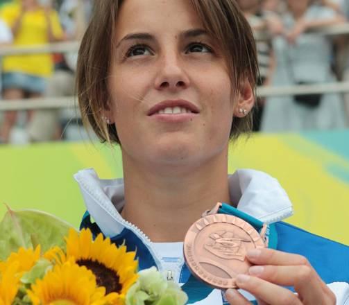 Tania Cagnotto ha conquistato la medaglia di bronzo nel trampolino da un metro ai mondiali di Shanga