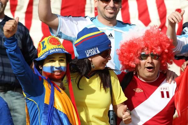 Quarti Coppa America: tifosi insieme sugli spalti per Colombia-Peru' -