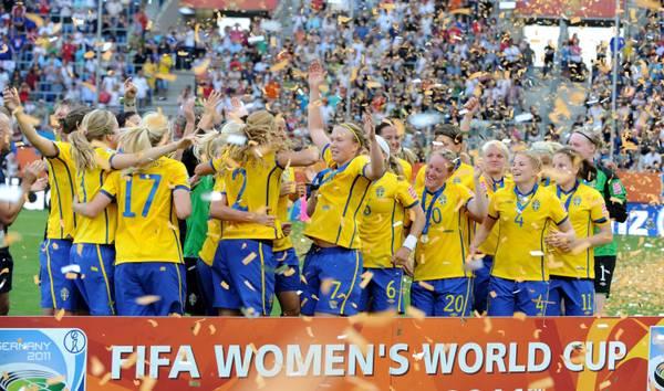 La Svezia conquista il terzo posto nei mondiali di calcio femminili -