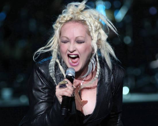 Il concerto di Cindy Lauper a Roma -