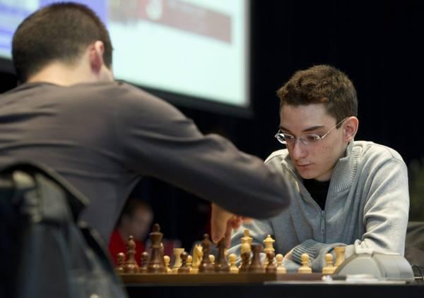Torneo di scacchi a Biel (Svizzera) con Fabiano Caruana -