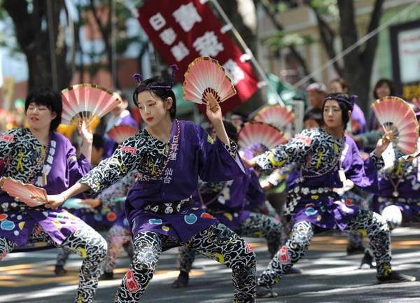 A Miyagi, in Giappone, il ''Tohoku Rokkon Festival'' -
