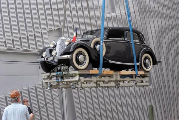 Dresda, in mostra la vettura di Charles de Gaulle -