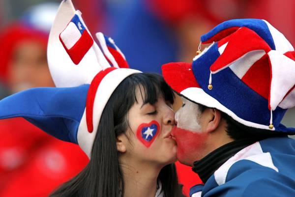 Coppa America: Cile-Peru' a Mendoza, e l'amore...nel calcio -