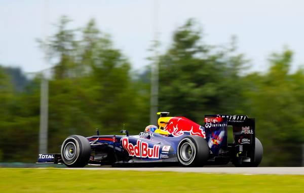 F.1: prove al Nurburgring, 'gira' Mark Webber su Red Bull -
