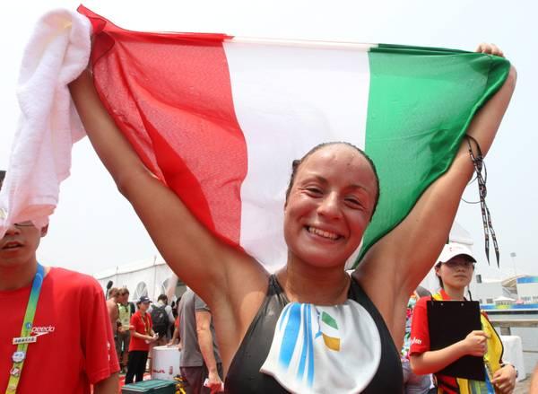 Mondiali a Shanghai, Alice Franco: bronzo, 25km acque libere -