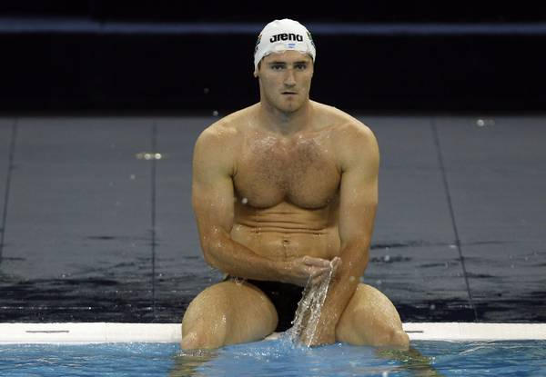 Cina, Mondiali nuoto: pausa in allenamento per van der Burgh -