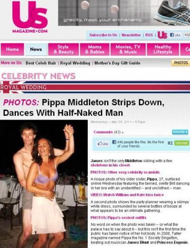 Pippa è di nuovo single -