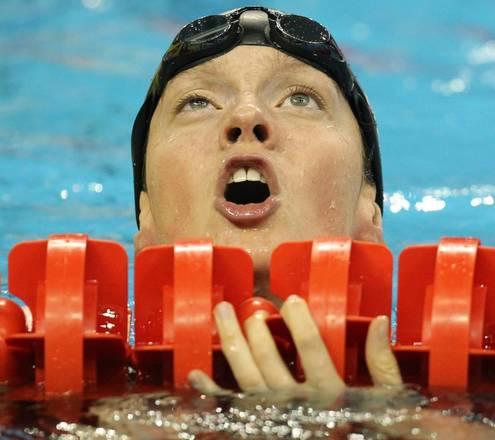 Mondiali nuoto, la belga Kimberly Buys dopo 100 metri dorso -