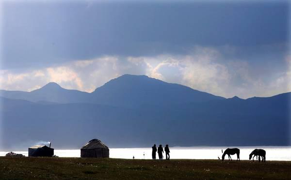 Selvaggio il paesaggio: e' cosi' la steppa del Kirghizistan
