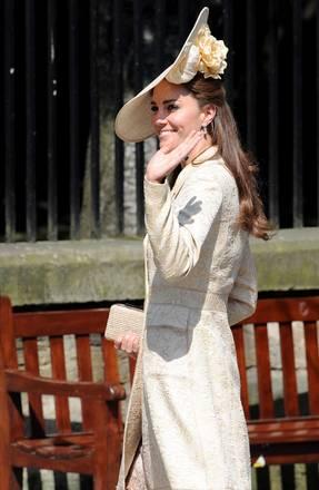 La Duchessa di Cambridge al matrimonio di Phillips e Tindall -