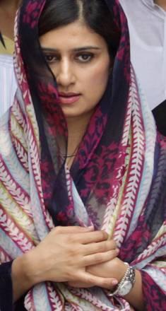 New Delhi: Hina Rabbani Khar,ministro degli Esteri pakistano -