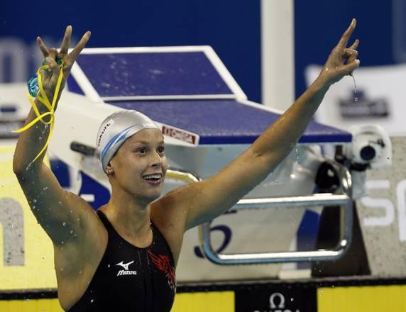 Federica Pellegrini ha vinto il suo secondo oro a Shangai -