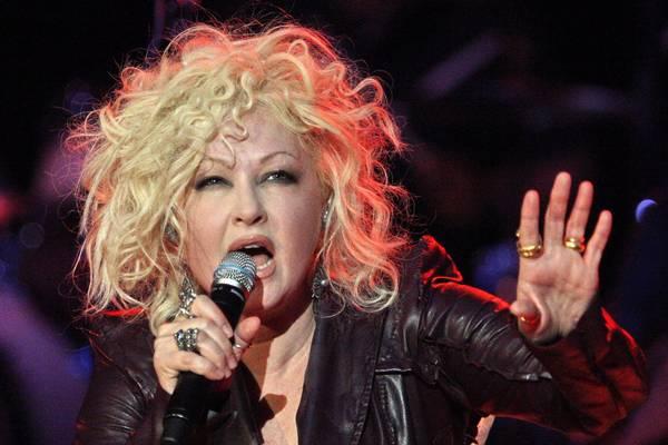 A Cartagena show della cantante statunitense Cyndi Lauper -