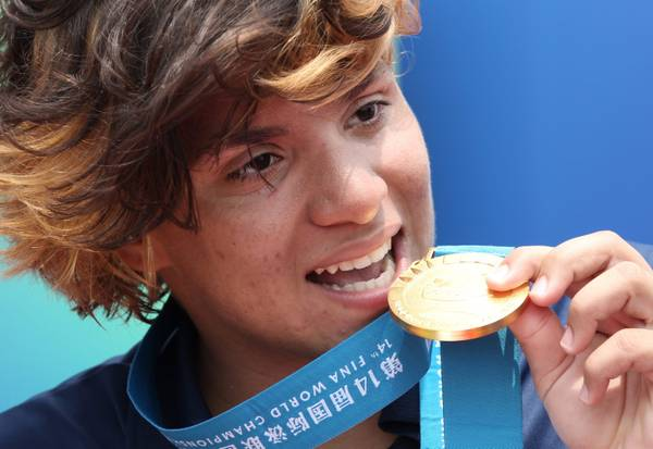 Shanghai, Mondiali nuoto: buono l'oro per Ana Marcela Cunha -