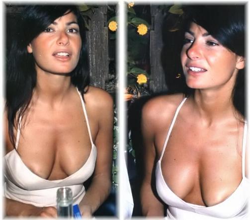 La giornalista Ilaria D'Amico -