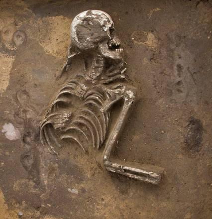 Ritrovato scheletro umano in Germania: avrebbe 7.000 anni -
