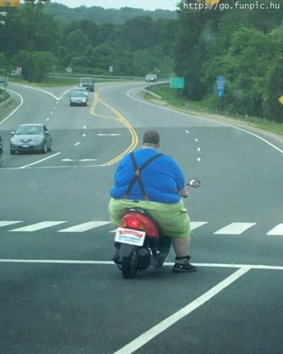 Povero motorino -