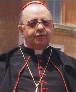 Il cardinale Giordano vescovo di Napoli morto il 02 dicembre 2010 -