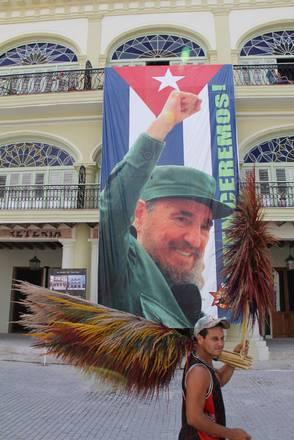 L'avana: a Cuba si festeggiano gli 85 anni di Fidel Castro -