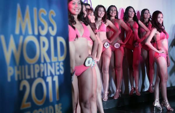 Filippine, le 25 bellissime che concorrono a Miss Mondo -
