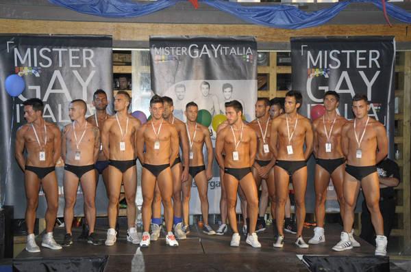 Daniel Argentino, 21 anni, di Roma, eletto a Torre del Lago Mister Gay Italia 2011 -