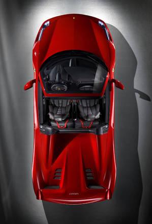 Ferrari 458 spider, ora la capote e' rigida -