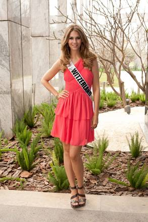 S.Paolo, a settembre Miss Universo 2011: La candidata elvetica -