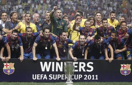 Barca vince Supercoppa europea -