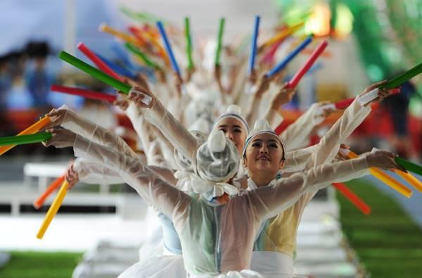 Daegu, inaugurazione dei Mondiali IAAF -