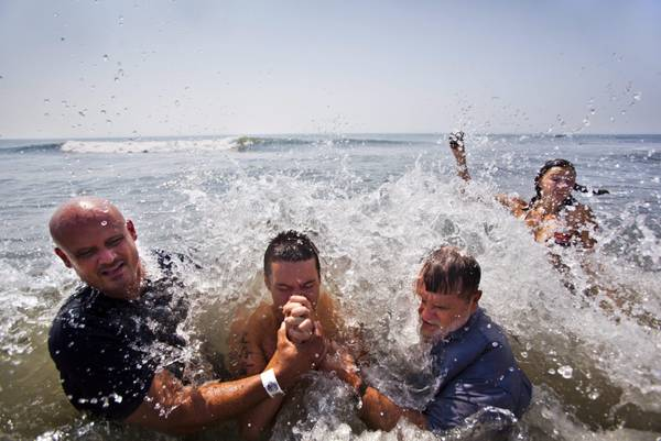 Battesimo nell'oceano Atlantico -