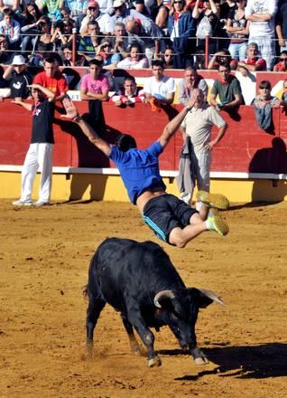 Encierro a Segovia, la sfida del giovane -