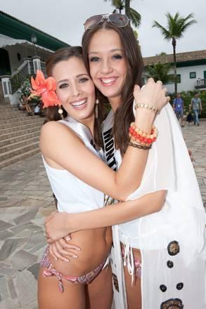 Verso miss Universo: si 'abbracciano' Nicaragua e Montenegro -